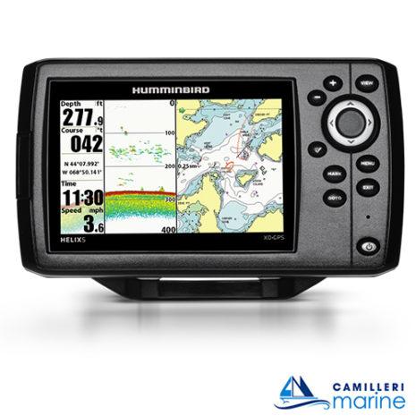 HUMMINBIRD HELIX 5 XD GPS 2500FT
