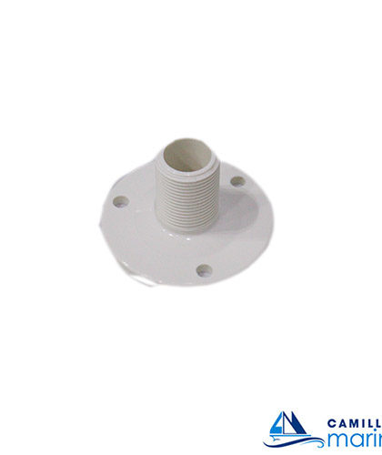 ellcee fixed antenna base - white